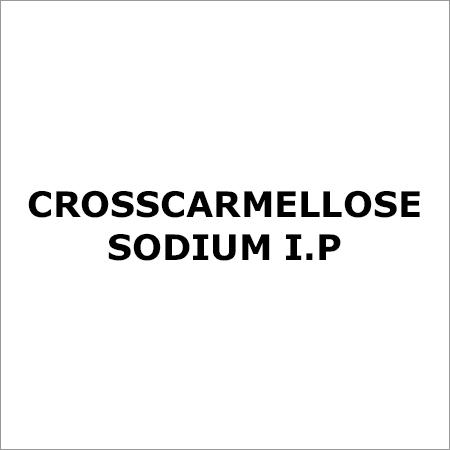 Crosscarmellose Sodium I.P