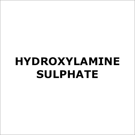 Hydroxylamine Sulphate
