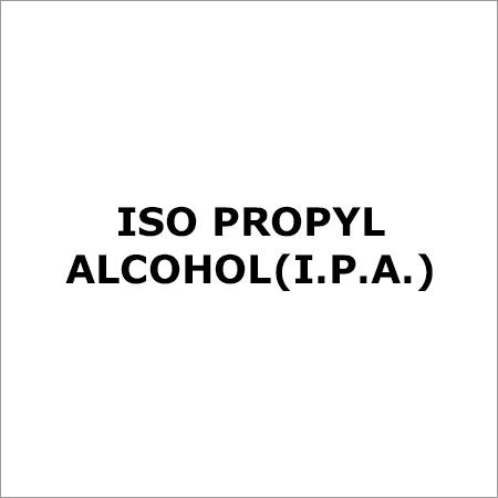 ISO Propyl Alcohol (I.P.A.)