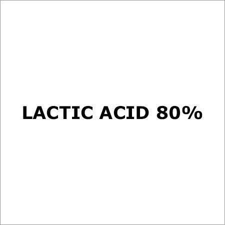 Lactic Acid 80%