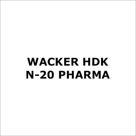 Wacker Hdk N-20 Pharma