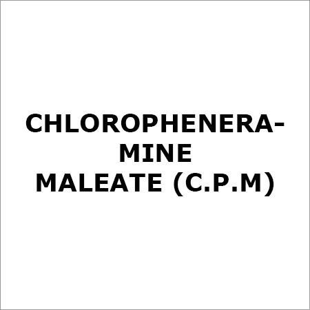 Chloropheneramine Maleate (C.P.M)