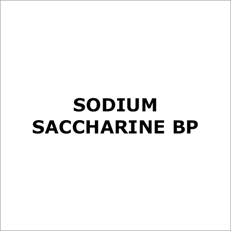 Sodium Saccharine BP
