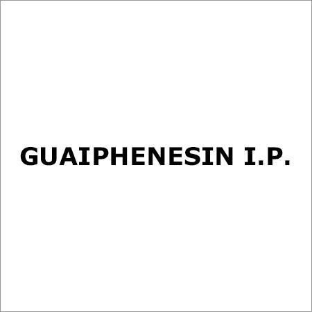 Guaiphenesin I.P.