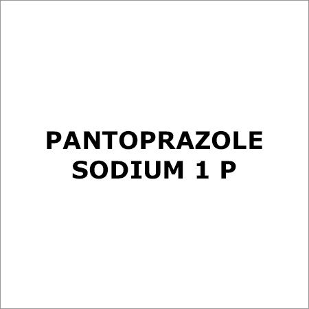 Pantoprazole Sodium 1 P