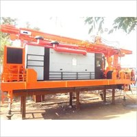 Skid Mounted Portable Water Drilling Rig
