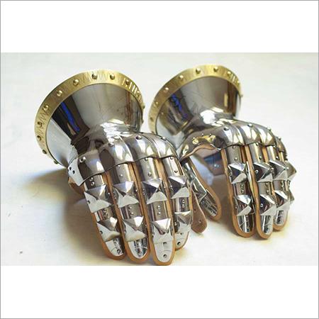 Medieval Iron Gloves