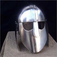 Iron Helmet, Goves & Stand