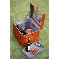 Leather Portable Bar
