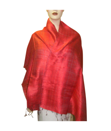 Pure Raw Silk Stoles