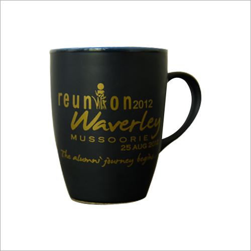 Matte Black Coffee Mug