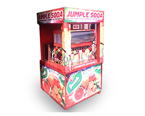 Soda Fountain Machine Cabin Model