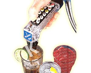 Soda Fountain Machine Gun Model