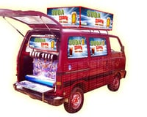 Soda Fountain Machine Omni Van