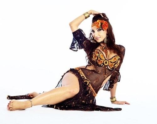 Belly Dance Black Costume