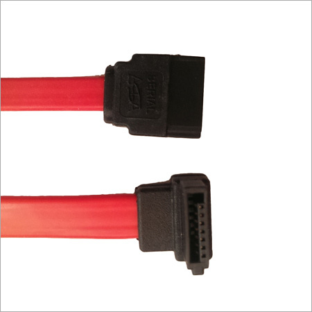 SATA 7 Pin to 7 Pin Right Angle Cable