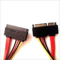 SATA 15 7 Pin Male to Female Power Cable