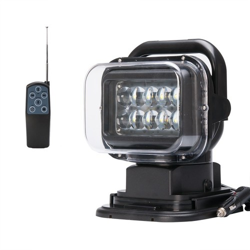 Revolving LED Search Light 50W (with Remote Control)