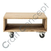Wooden Sofa Bed With Casters