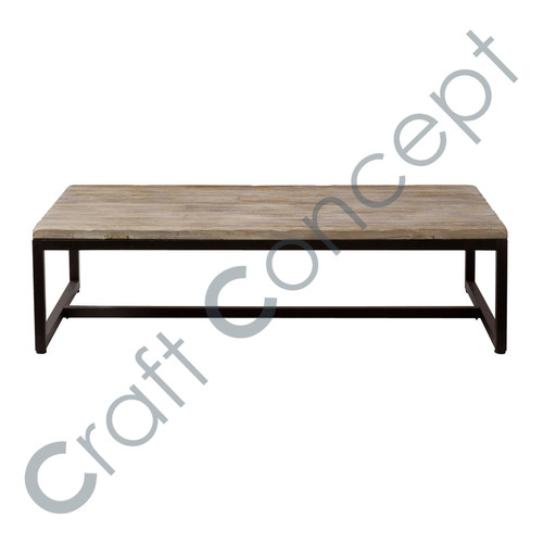 pine com metal and en coffee veneer table wood inspiration bouclair