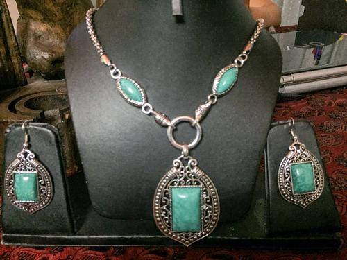 GS light coloured stone sets(torquise)