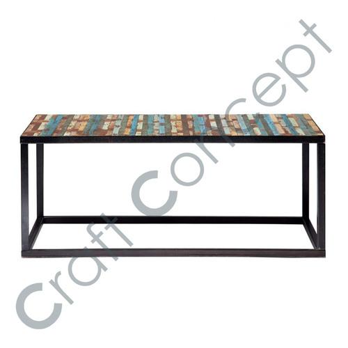 Wood & Iron Reclaim Coffee Table