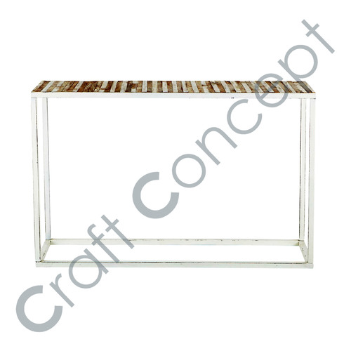 Metal & Reclaim Wood Console Table