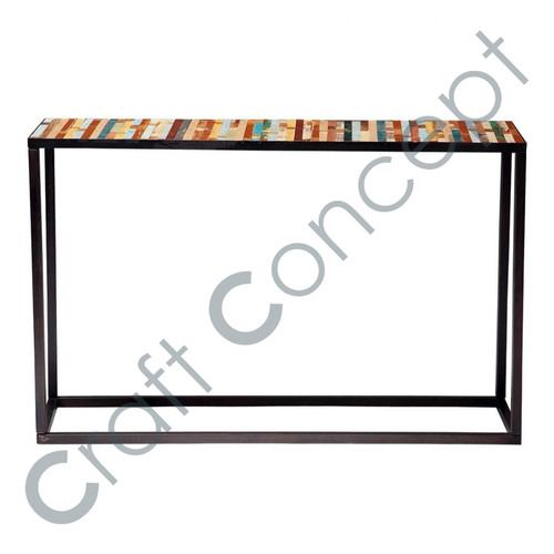 Wood & Iron Reclaim Console Table