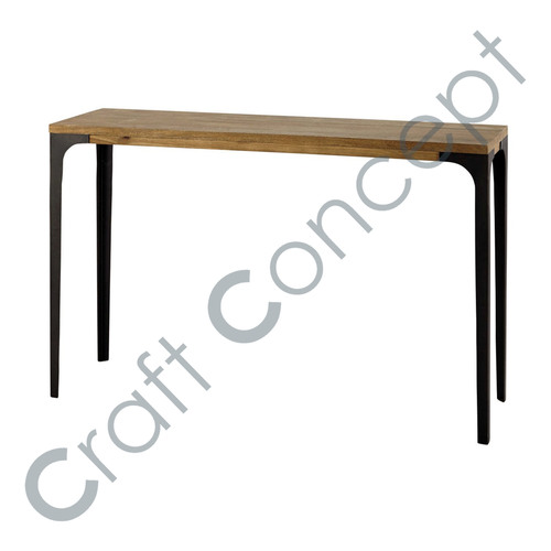Mango Wood & Iron Dining Table