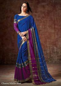 Stylish Designer Silk Saree