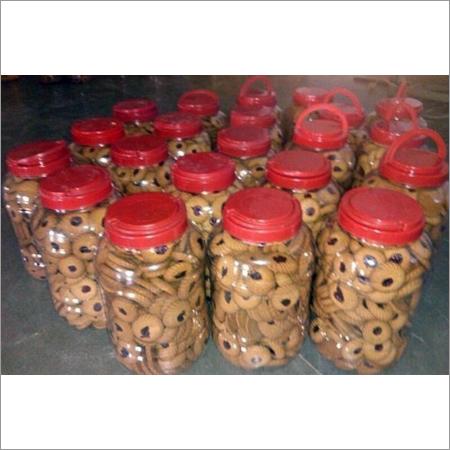 Baked Jam Cookies