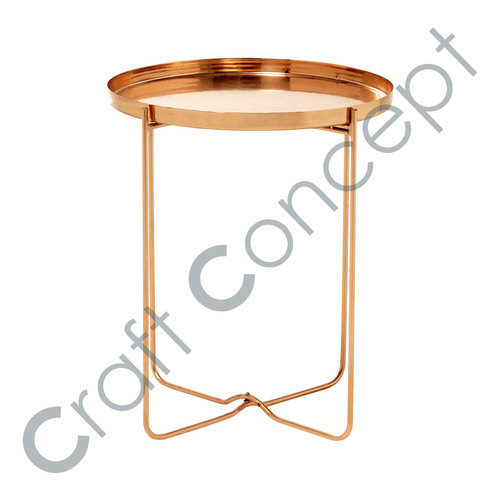 Copper Metal Sofa Bed Side