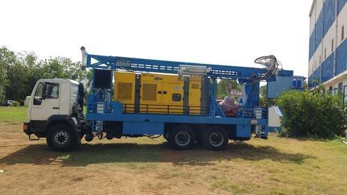 water well boring machine