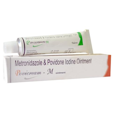 Povidone Iodine Metronidazole Alovera Ointment Cream