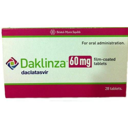 Daclinza 60mg - Daclatasvir 60mg Tablets