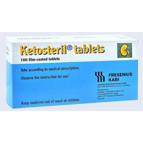 Ketosteril (Methionine) Essential Amino Acid 600 mg 100 Tablets