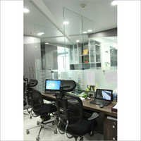 Office Glass Workstation Partition