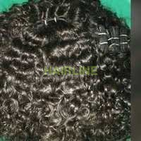 nature culy machine wefted hair