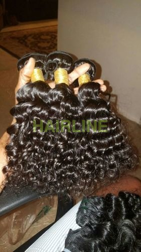 process curly machine wefted