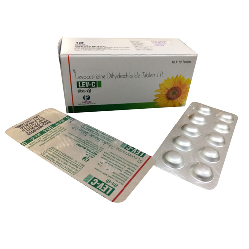 Levocetirizine-5 mg Tablets