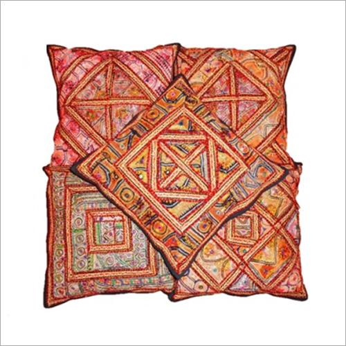 Antique Zari Work Cushion Covers