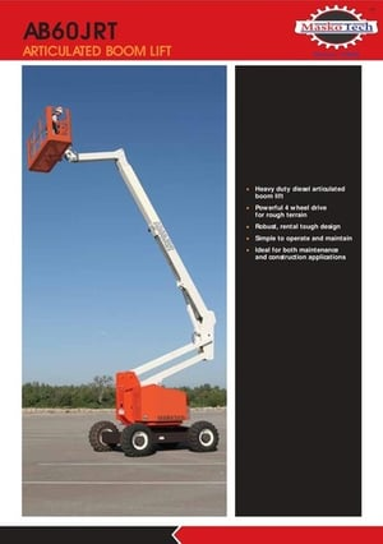 Diesel Articulated Boom Lift