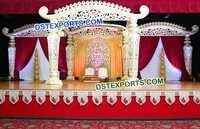 Latest Style Fiber Wedding Mandap
