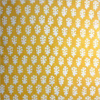 COTTON GOLD PRINT FABRIC