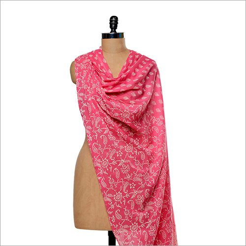 Printed And Plain Scarves