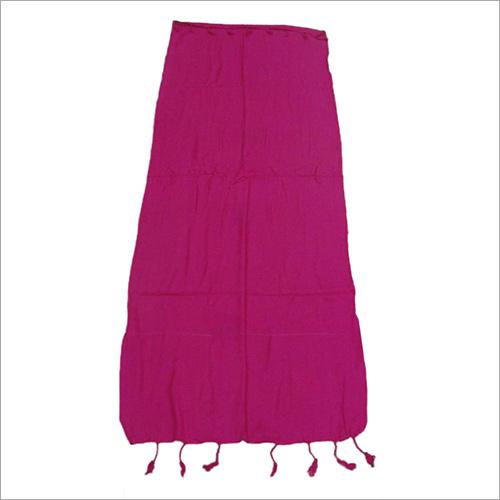Pink Plain Stoles