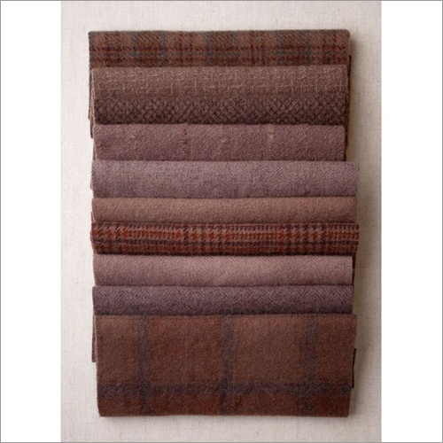 Woolen khadi Fabric