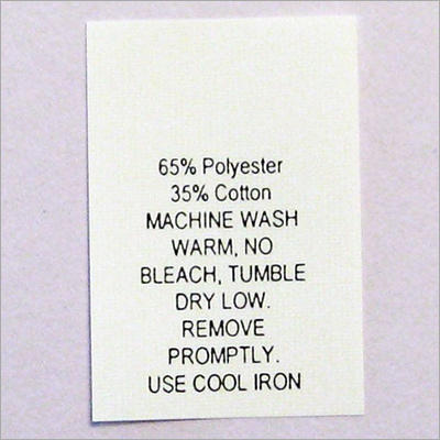 Polyester Printed Labels