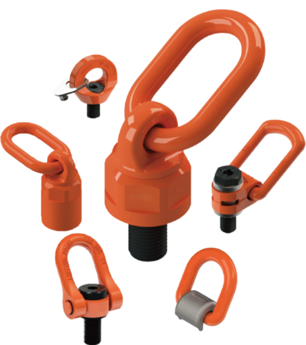 Forged Side Pull Load Hoist Ring Lifting Point