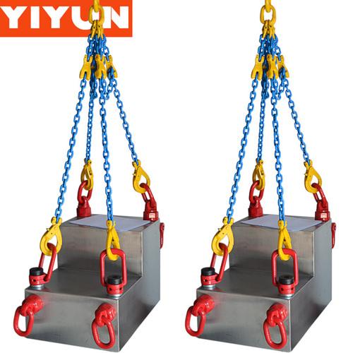Rigging hoist ring lifting eye bolts swivel eye